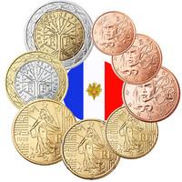 Ranska 1s - 2 € 1999 UNC