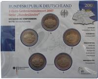 Saksa 2 € 2007 Mecklenburg / Schwerin Schloss A-J BU