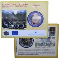Luxemburg 2 € 2009 EMU BU coincard
