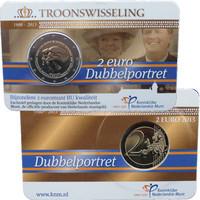 Alankomaat 2 € 2013 Double Portrait BU coincard