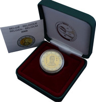 Belgia 2 € 2009 Louis Braille PROOF