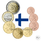 Suomi 1s - 2 € 2000 UNC