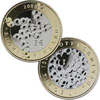 Suomi 5 € 2008 Tiede ja tutkimus BU