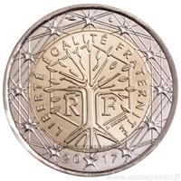 Ranska 2 € 2012 Elämänpuu UNC