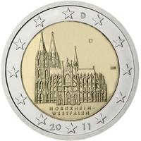 Saksa 2 € 2011 Nordrhein-Westfalen / Kölnin tuomiokirkko