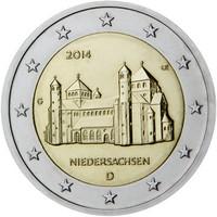 Saksa 2 € 2014 Niedersachsen / Mikaelinkirkko