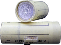 San Marino 1 € 2014 rulla