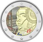Ranska 2 € 2015 Fête de la Fédération väritetty