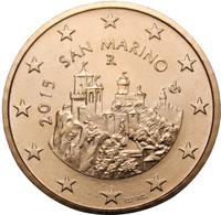 San Marino 50s 2015 Kolme tornia UNC