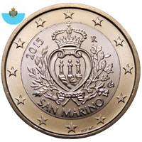 San Marino 1 € 2014 Vaakuna UNC