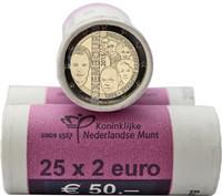 Luxemburg 2 € 2015 Nassau rulla
