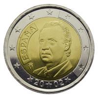 Espanja 2 € 200X Juan Carlos I UNC