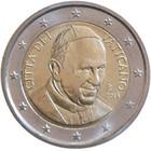 Vatikaani 2 € 2015 Paavi Franciscus I BU pillerissä