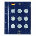 Leuchtturm Vista- säilytyslehti 3 ja 10 euron juhlarahoille