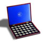 Leuchtturm Volterra Uno de Luxe säilytyslaatikko 35:lle 2 euron kolikolle