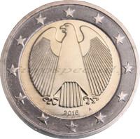 Saksa 2 € 2016 Kotka A UNC