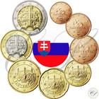 Slovakia 1s - 2 € 2009 UNC