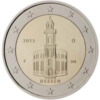 Saksa 2 € 2015 Hessen / Paavalinkirkko