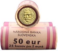 Slovakia 2 € 2015 Ľudovít Štúr rulla