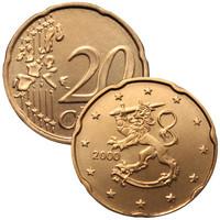 Suomi 20s 2000 UNC