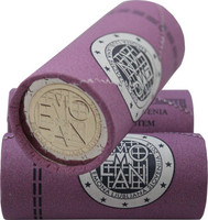 Slovenia 2 € 2015 Emona-Ljulbjana rulla