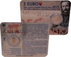 Slovakia 2 € 2015 Ľudovít Štúr BU coincard