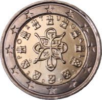 Portugali 2 € 2003 Kuninkaallinen sinetti UNC