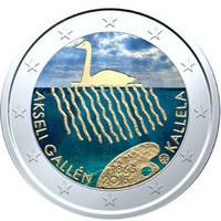 Suomi 2 € 2015 Akseli Gallen-Kallela väritetty