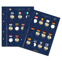Leuchtturm Vista- säilytyslehti EU:n lippu 30 v.