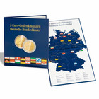 Leuchtturm Presso kolikkokansio Saksa 2 € 2006-2021 Bundesländer