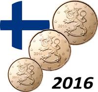 Suomi 10 - 50 senttiä 2016 UNC