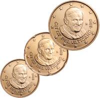 Vatikaani 10, 20 & 50 senttiä 2011 BU