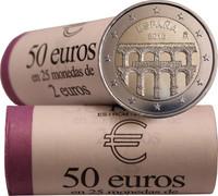Espanja 2 € 2016 Segovia rulla