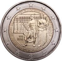 Itävalta 2 € 2016 Itävallan keskuspankki 200 vuotta