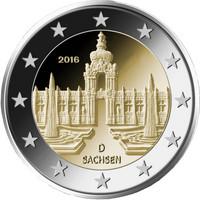 Saksa 2 € 2016 Sachsen / Zwinger