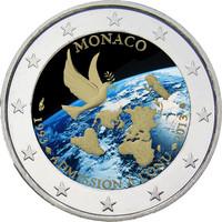 Monaco 2 € 2013 YK- jäsenyys 20 vuotta väritetty