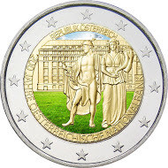 Itävalta 2 € 2016 Itävallan keskuspankki 200 v. väritetty