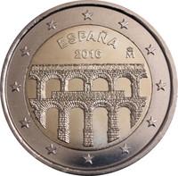 Espanja 2 € 2016 Segovia