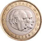 Monaco 1 € 2003 Albert II & Rainier III
