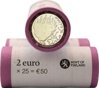 Suomi 2 € 2016 Eino Leino rulla