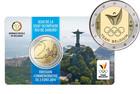 Belgia 2 € 2016 Olympics in Rio coincard