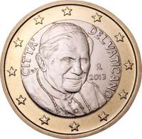 Vatikaani 1 € 2008 Benedictus XVI BU