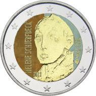 Suomi 2 € 2012 Helene Schjerfbeck väritetty