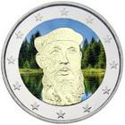 Suomi 2 € 2013 F. E. Sillanpää väritetty