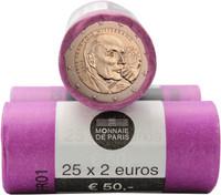 Ranska 2 € 2016 François Mitterrand rulla