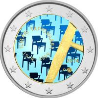 Suomi 2 € 2014 Ilmari Tapiovaara väritetty