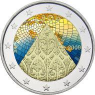 Suomi 2 € 2009 Autonomia 200 vuotta väritetty