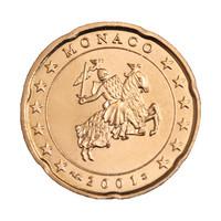 Monaco 20s 2001 Sinetti UNC