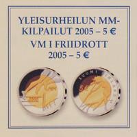 Suomi 5 € 2005 Yleisurheilun MM- kisat BU