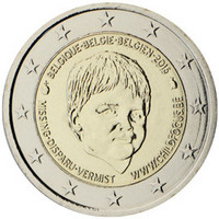 Belgia 2 € 2016 Child Focus UNC
